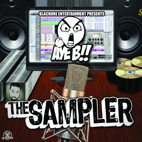 Aye B - The Sampler (Front) copy