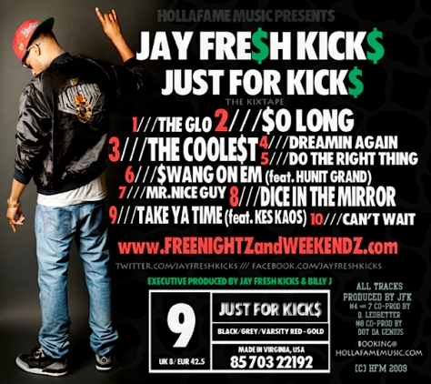 JUST FOR KICK$ (Back Cover)