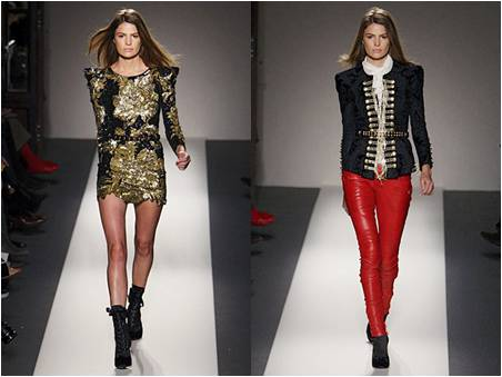 Balmain RTW Fashion Show 2010